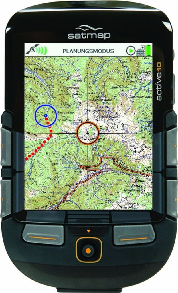SatMap Active 10 PLUS GPS Gerät